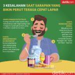 Baru Saja Sarapan Kok Sudah Lapar Lagi? Mungkin Ini Penyebabnya